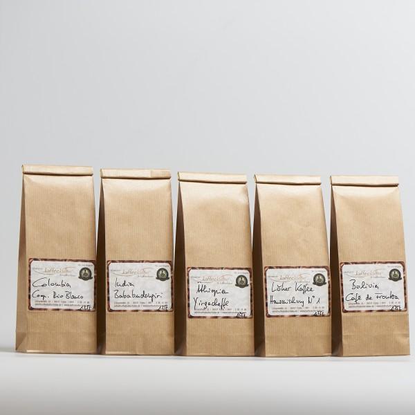 Probierpaket 5er Kaffee
