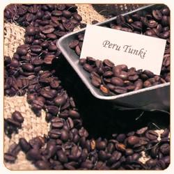Peru Tunki (Rohkaffee aus organischem Anbau)