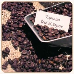 Espresso Sete di Sapere (Rohkaffee aus organischem Anbau)