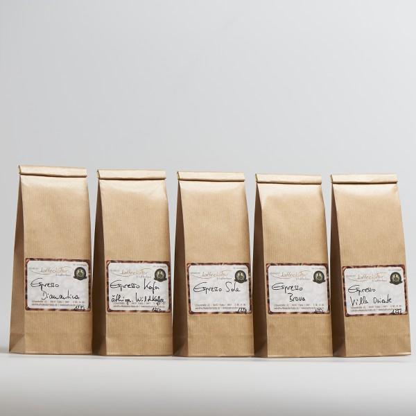 Probierpaket 5er Espresso
